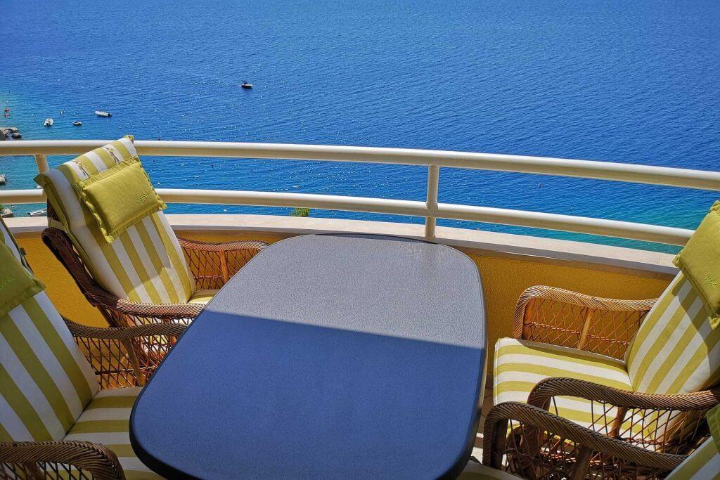 pogled na more villa mira